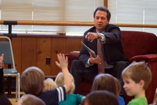 Gov. Steve Bullock answers questions