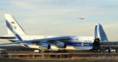 Russian jet loading