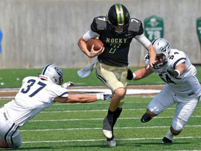Dickinson State at Rocky Mountain College Football