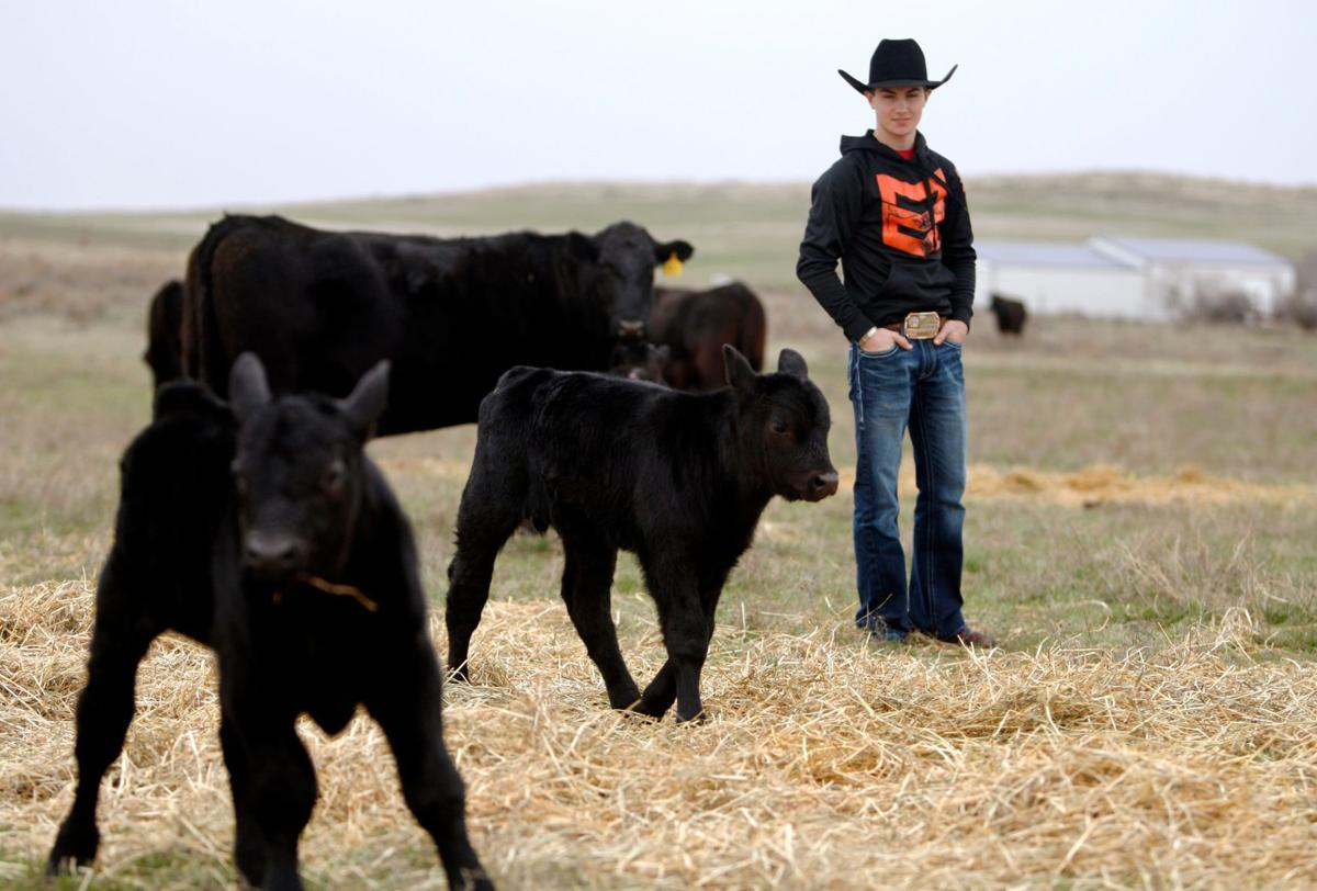 Photos: PBR bull rider Jess Lockwood at home in Volborg | Rodeo news