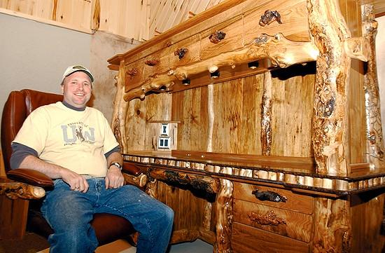 Furniture maker looking for his niche