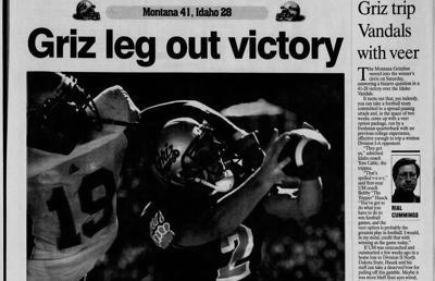 Montana Idaho 2003 newspaper cover