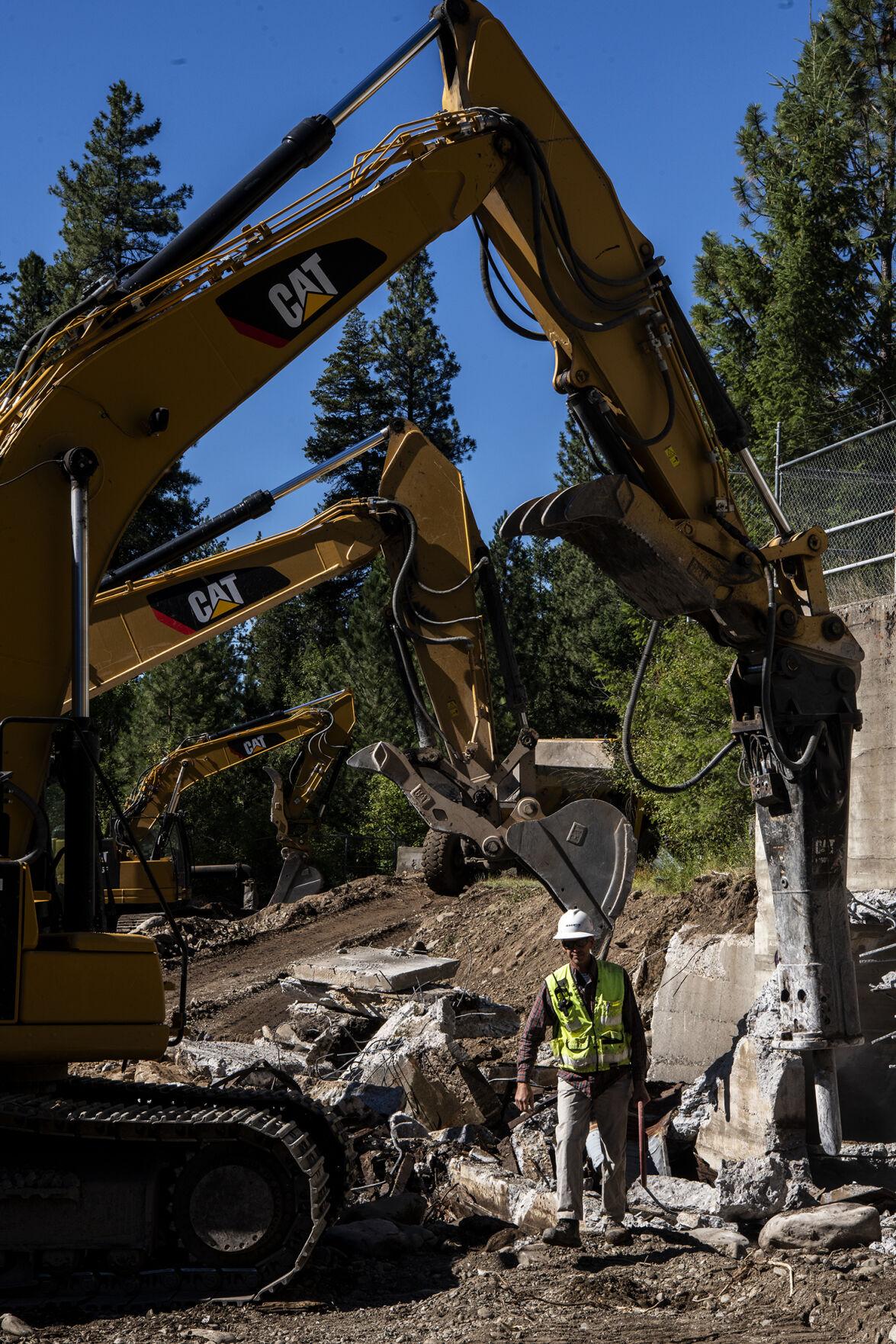 Rattlesnake Creek Dam demolition 02