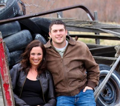 Lindsay Peterson and Ben Lambert