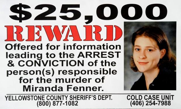 Miranda Fenner reward poster