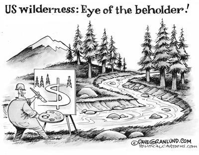Wilderness viewpoint
