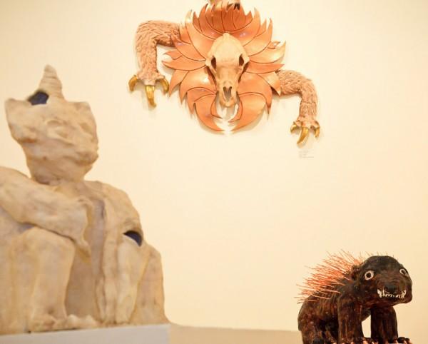 ase Oriet hangs on a wall in Ryniker-Morrison Gallery