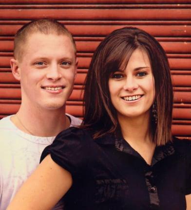 James Hopkins and Brittni Anderson