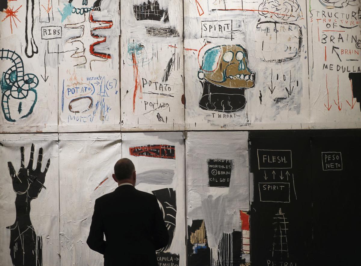 """""""Flesh and Spirit"""" by Jean-Michel Basquiat"""