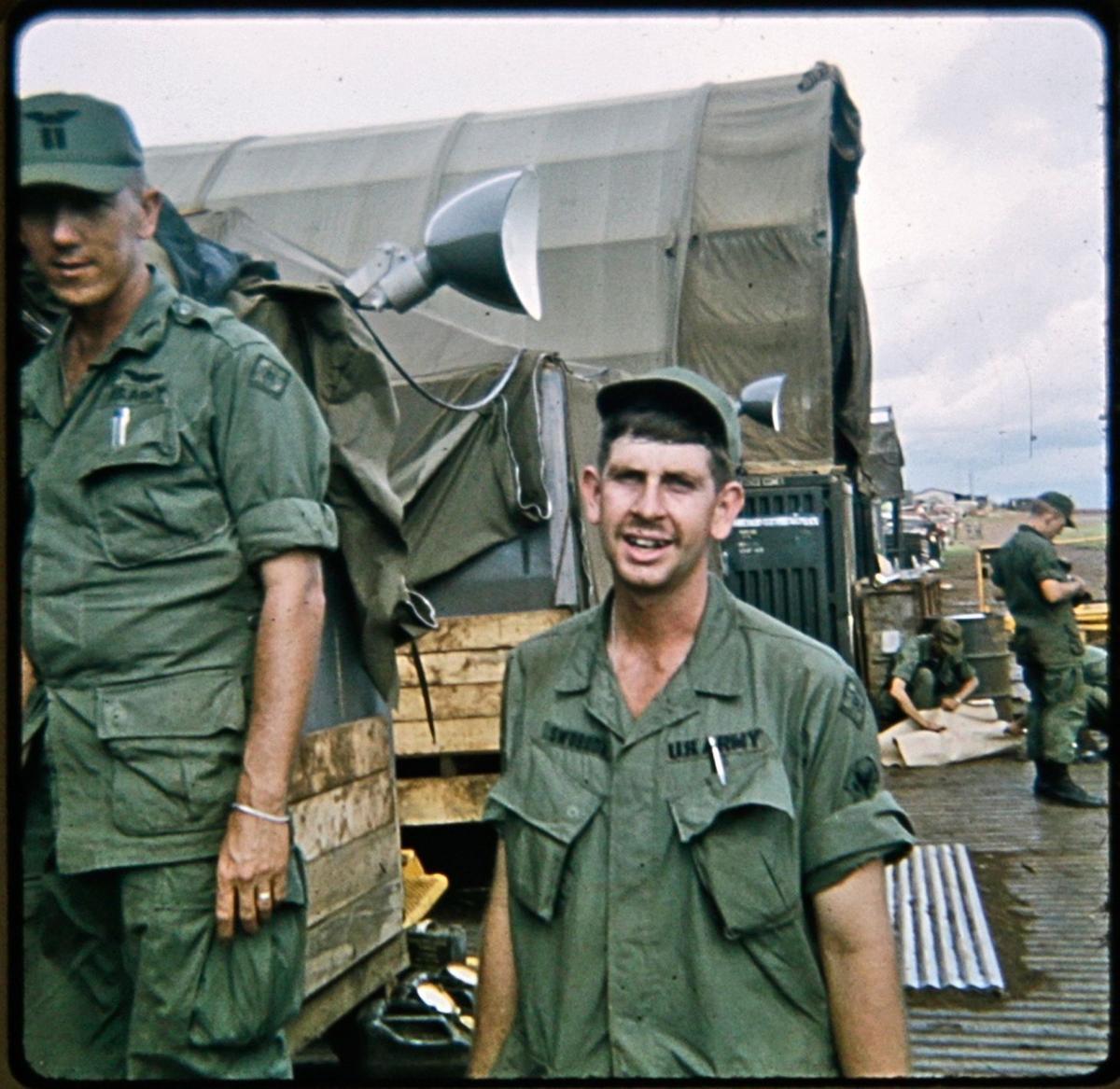 Dave Swoboda in Vietnam Veteran