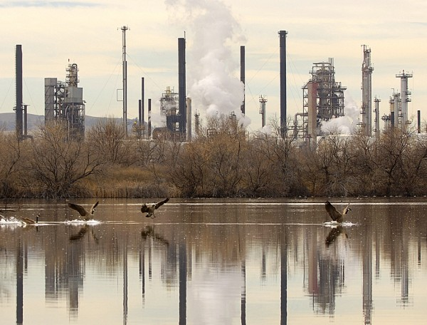 Exxon Mobil refinery