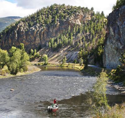Big Hole River fishing