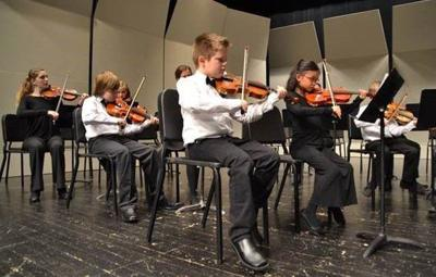 Billings Youth Orchestra's Preludio Strings