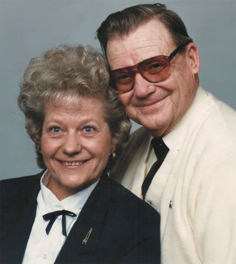 Dorothy and Harold Eide today