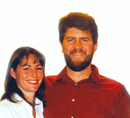 Jolene French and Nicholas Burnam