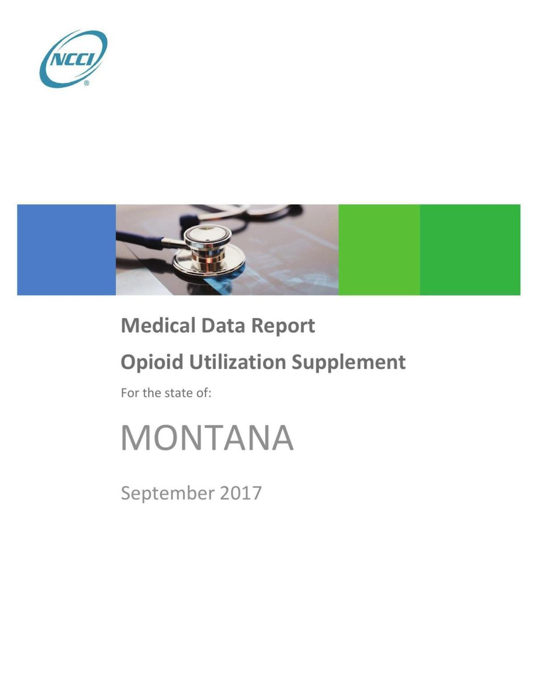 NCCI Medical Data Report
