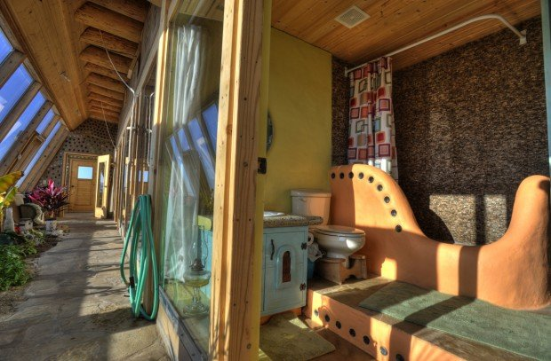 Earthship Experience: 8 Weeks, 650 Tires, Thousands Of Pop