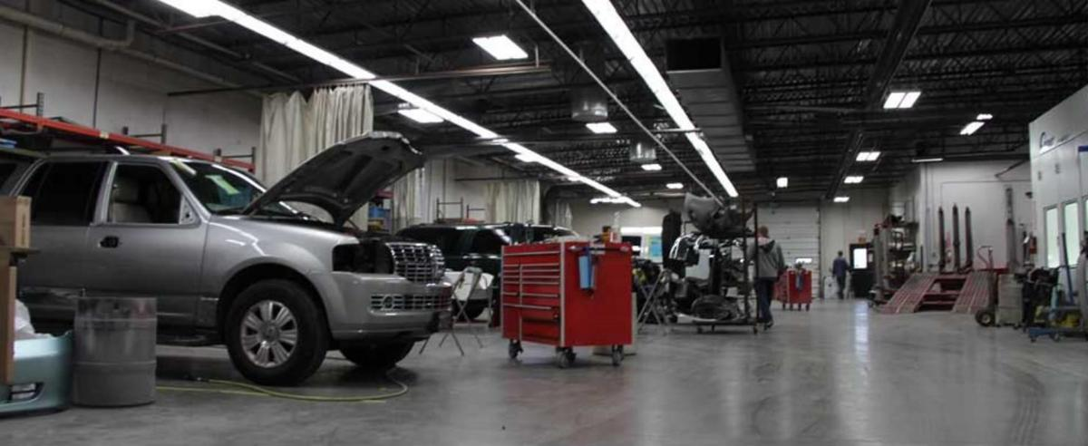 One of the largest state of the art repair centers in Montana!