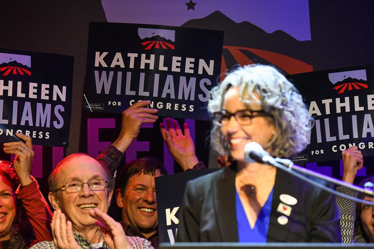 Kathleen Williams Election Night