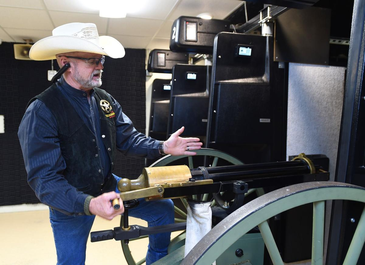 Cody firearms gatling gun