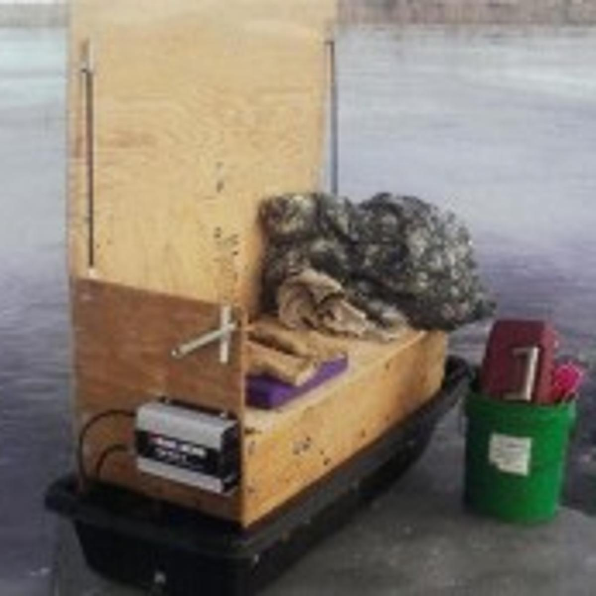 Ice-fishing sled's an off-season building project | Outdoors