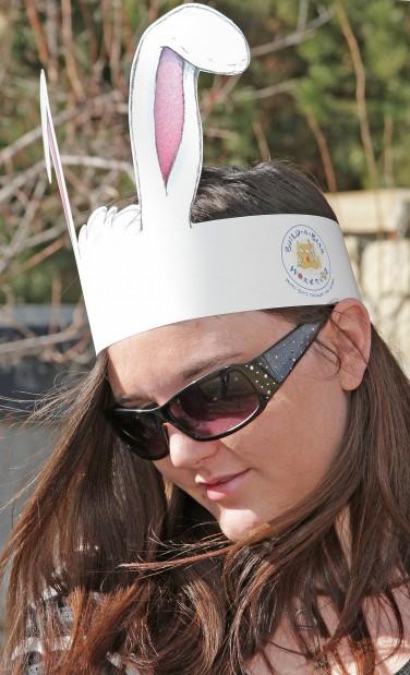 MSUB egg hunt Leigh Decorde