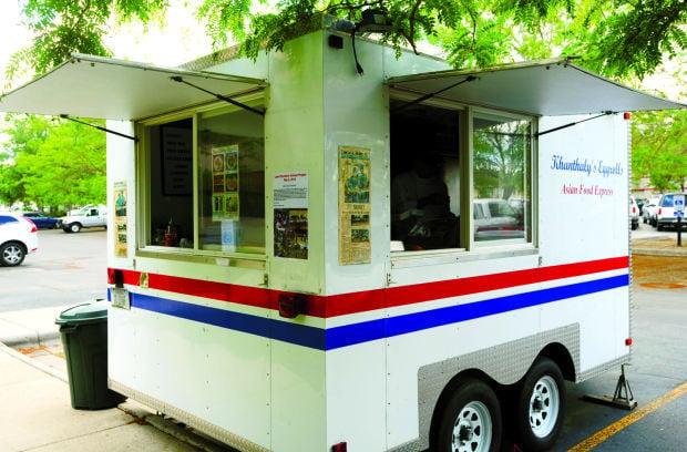 Rolls Rice Food Truck Menu