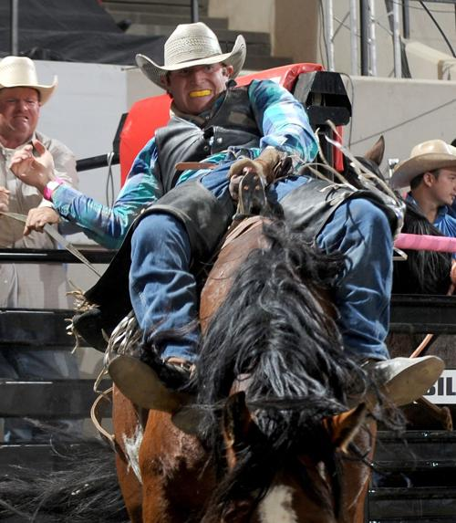 "Trenten Montero rides ""Fringe Benefits"""