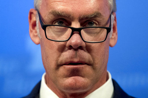 Interior Secretary Ryan Zinke Is Under Investigation for Using Private Planes