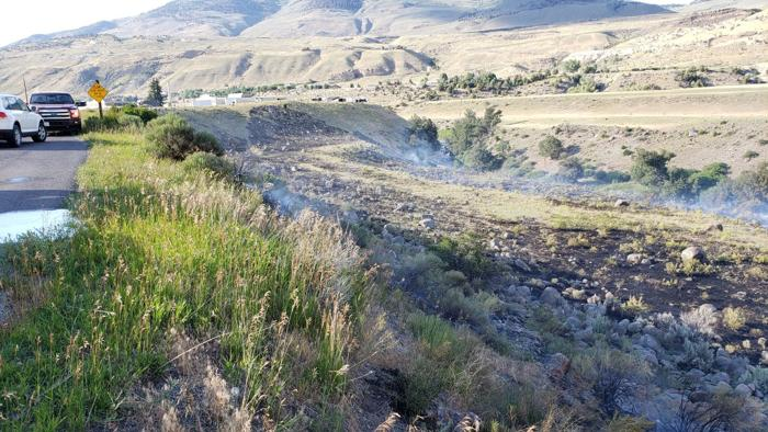 Human-caused fire in Yellowstone National Park contained