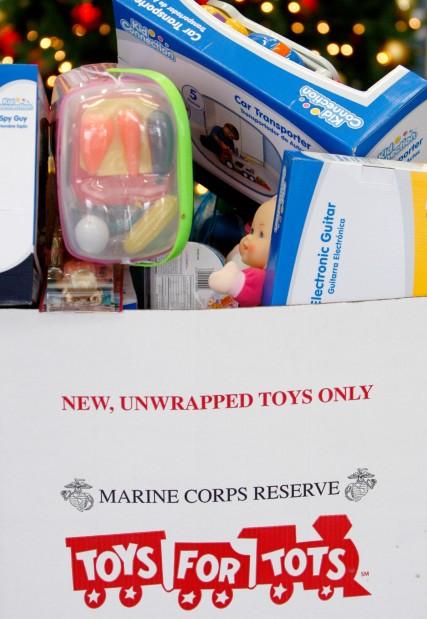 A Toys For Tots Collection Box Local Billingsgazette Com