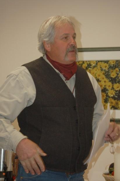 Beartooth Electric Cooperative member Bill Mitten