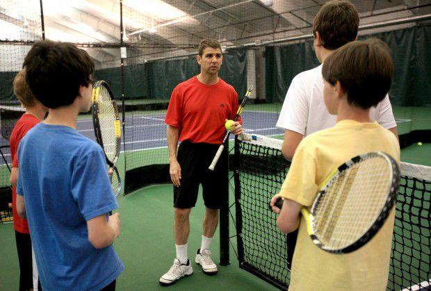 Elks Tennis Center pro Roe Jones