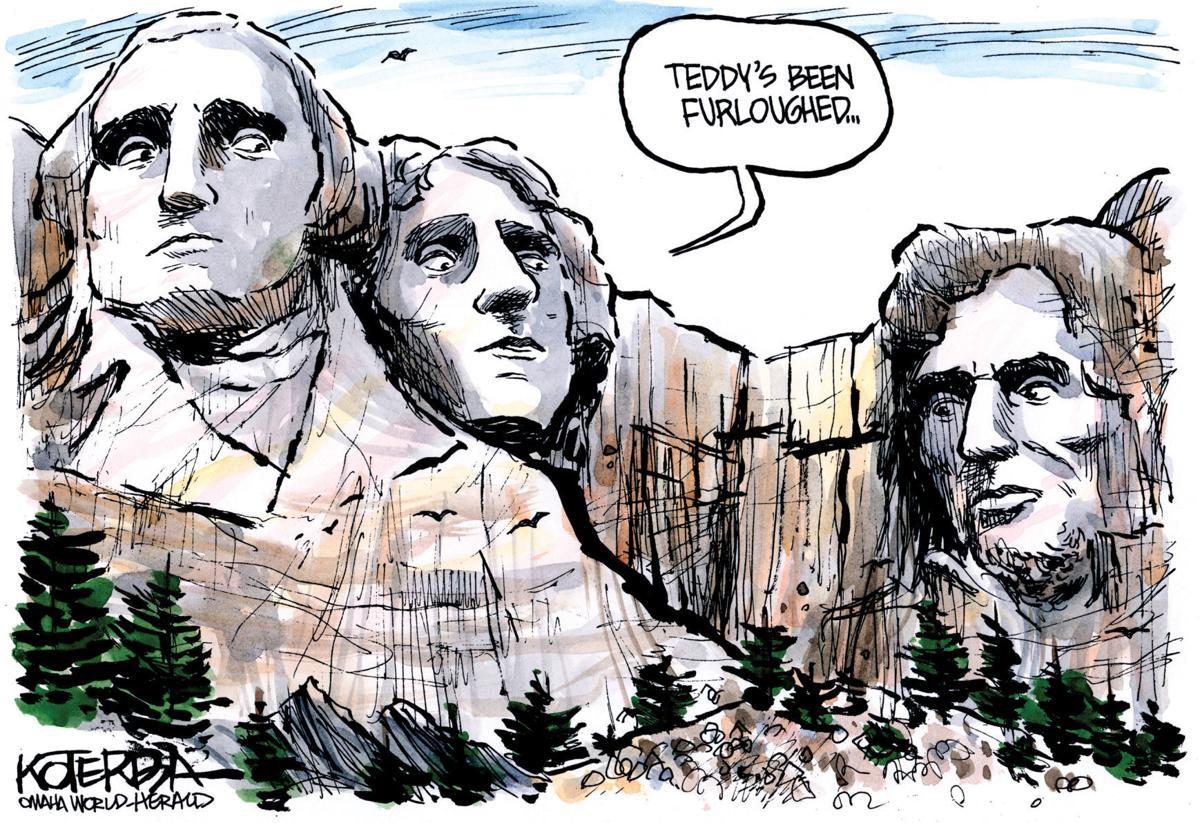 Mount Rushmore furlough