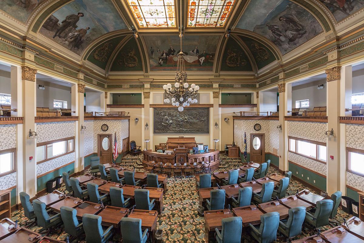 Montana House of Representatives chamber Legislature icon law legislation bill government