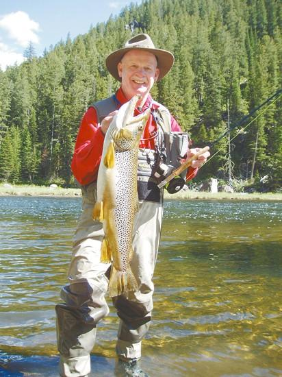 Noted West Yellowstone angler catches 10-pound Madison fish