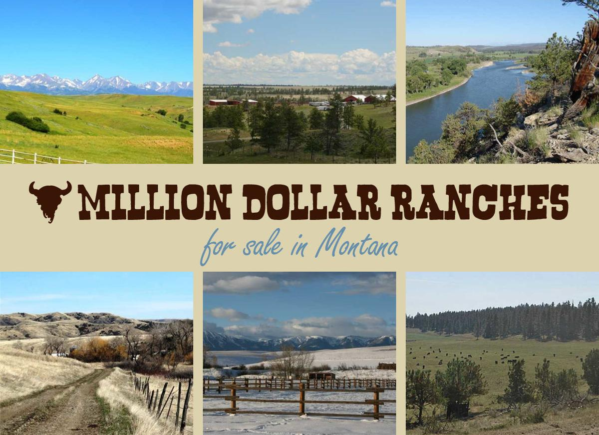 17 Million Dollar Montana Ranches For Sale Home And