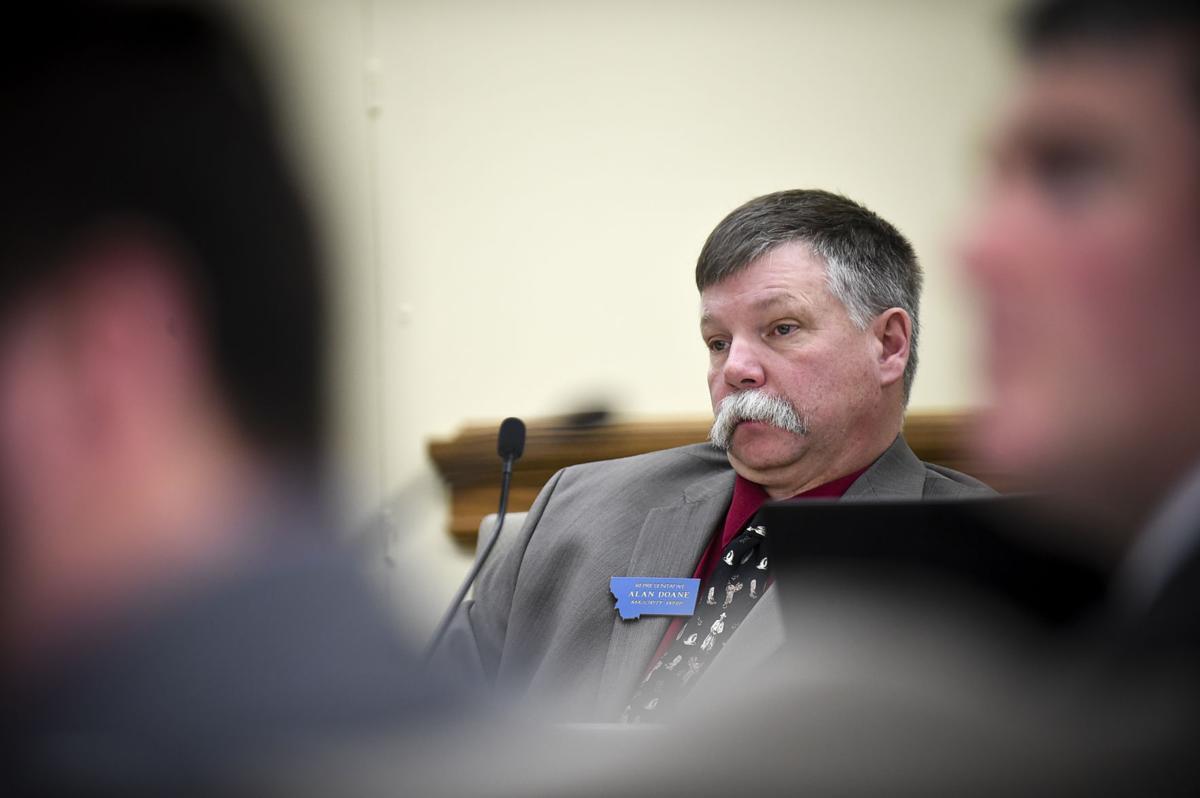 Chairman Rep. Alan Doane, R-Bloomfield,