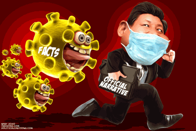 Xi can't evade virus facts