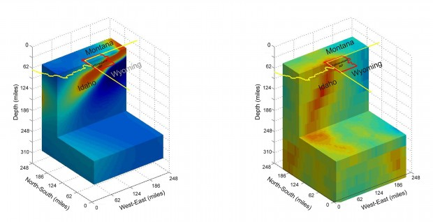 Yellowstone plume measurements