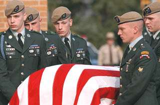 Funeral service held for Army Ranger killed in Pakistan
