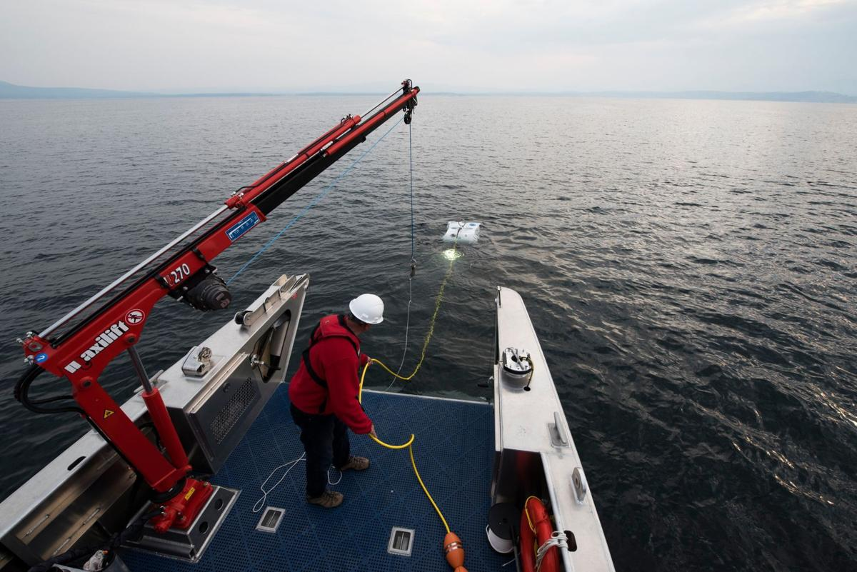 Temperatures from Yellowstone Lake vents hit new high | Outdoors