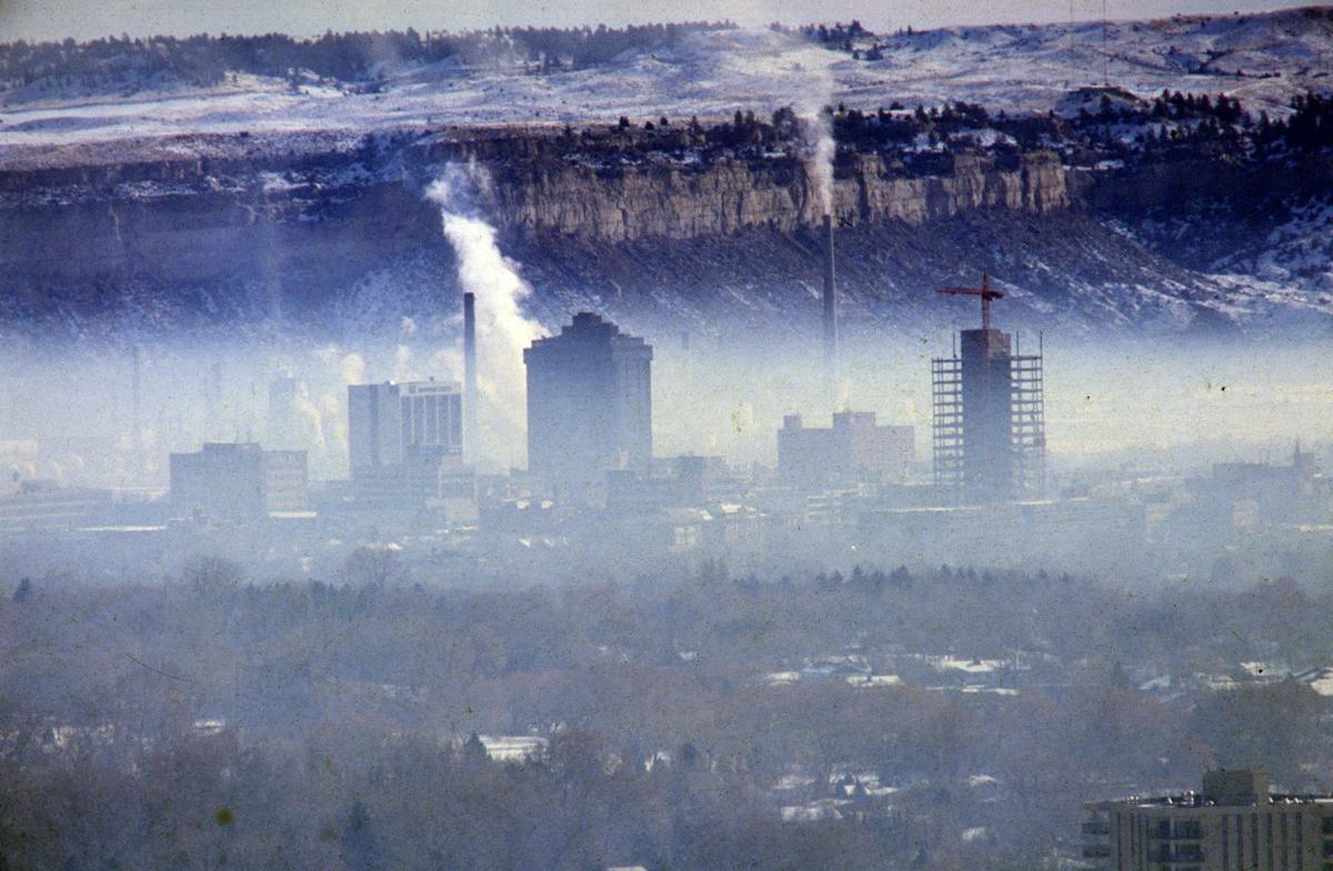 Smog over Billings, November 1984