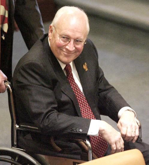 Cheneys get warm welcome at Legislature