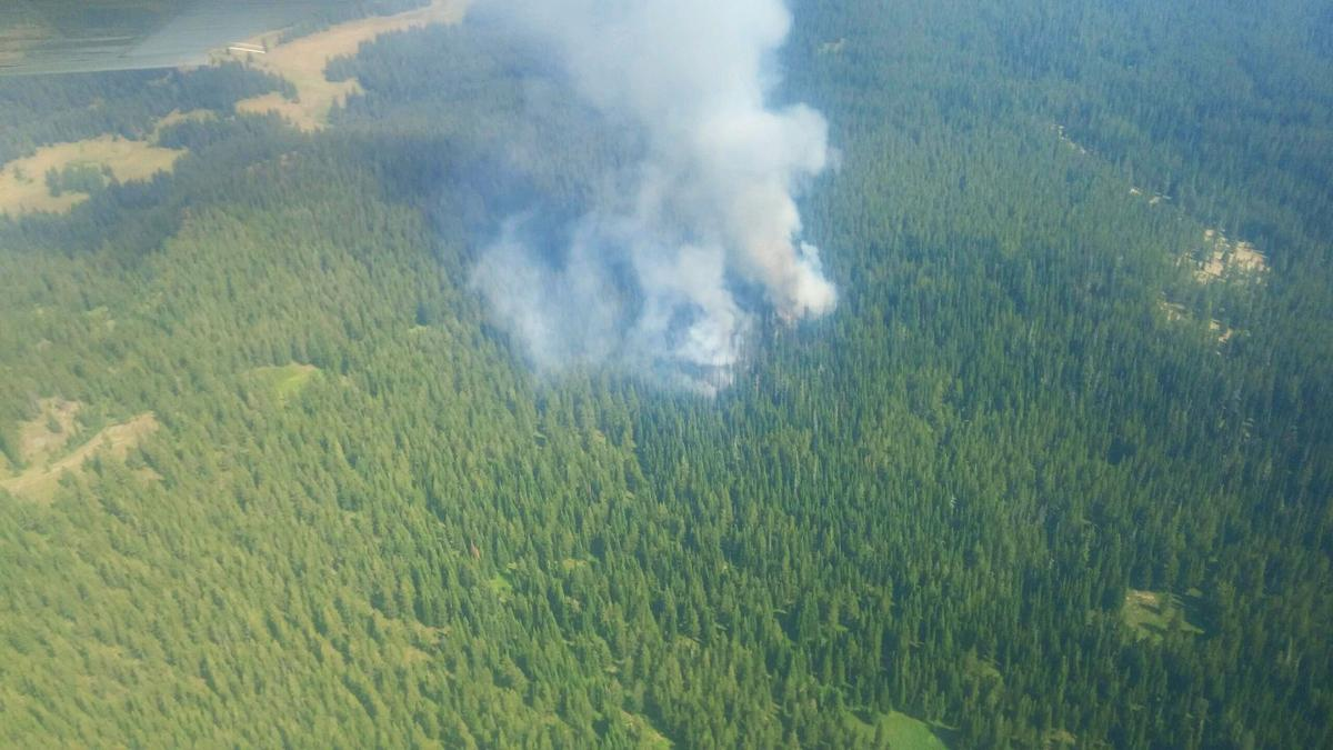 Basin Creek fire