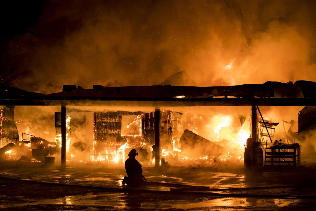 Swift River Ranch fire