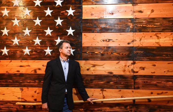 Bullock outlines core issues to Iowans in presidential campaign stop