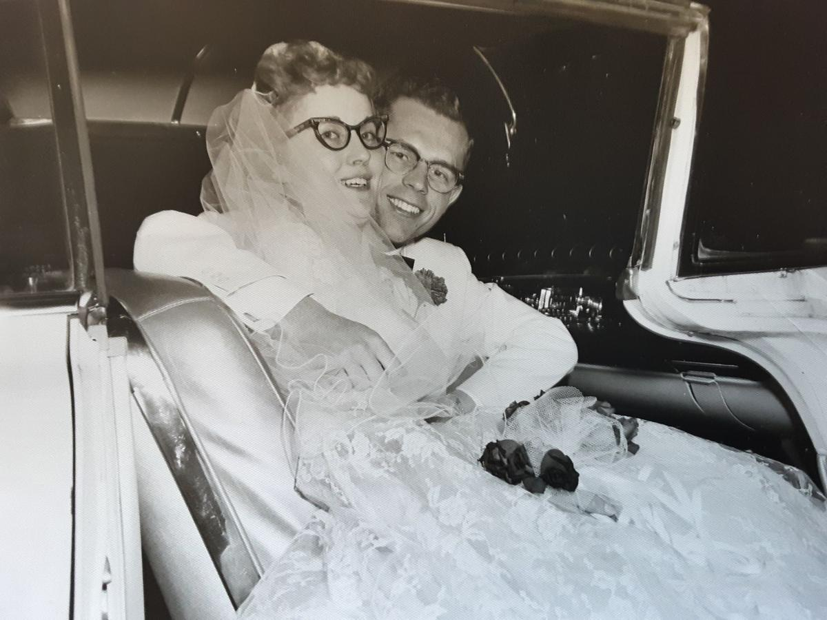 Delmer and Ruth Yoder in 1961