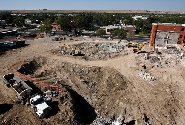 Construction continues at Wyoming Medical Center