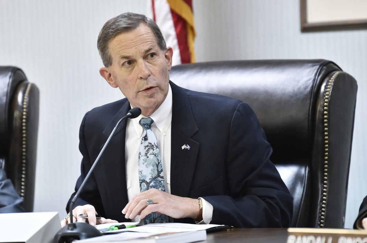 Brad Johnson, chairman of the Public Service Commission